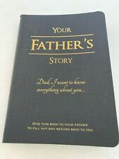 Your Fathers Story Book Fathers Journal
