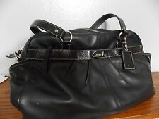 Coach Addison Multifunctional Purse Baby Diaper Bag  Black Handbag F18374 L0117