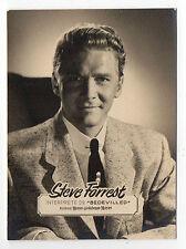 années 1950 Espagnol ROLLFILM FILM STAR CARTE États-Unis & TV The Baron Acteur