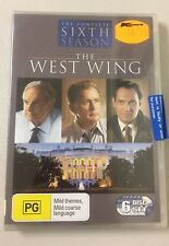 The West Wing Series : SEASON 6 : NEW DVD - 6 Disk Set