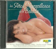 Los Anos Maravillosos De La Balada  Latin Music CD New