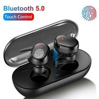 Wireless Bluetooth 5.0 Earphones Headphones TWS Mini Earbuds Waterproof Headset