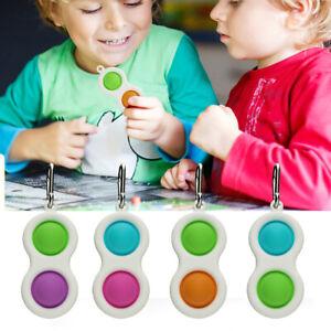 Simple Dimple Fidget Toys Anti Stress Toy Stress Relief Kid Autism Sensory Toys