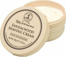 Taylor Of Old Bond Street Sandalwood Shaving Cream In 150g / 5.3oz Bowl