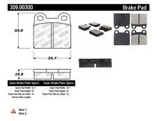 Disc Brake Pad Set-Sport Brake Pads Rear,Front Stoptech 309.00300
