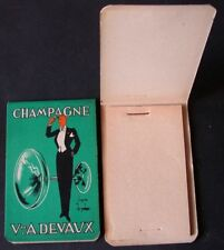 Carnet neuf  CHAMPAGNE veuve A.DEVAUX d'après Ernst DRYDEN vers 1930