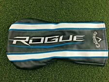 Callaway Rogue Black 1-Wood Driver Headcover / Good Condition / mm2457