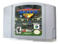 NFL Blitz 2001 (Nintendo 64, 2000) N64 Football Cartridge Only Authentic Tested