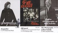Ron Galella - Paparazzo - original handsignierte Autogrammkarte ca. 12,5 x 22 cm