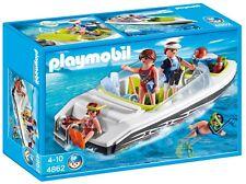 Playmobil  4862 LANCHA FAMILIAR - FAMILY SPEED BOAT SCUBA            SUMMER FUN