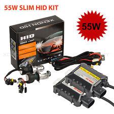 Hid Conversion Kit H1/H7/9006 6000K 8000K Xenon Headlight Bulbs 55W Ballast Car