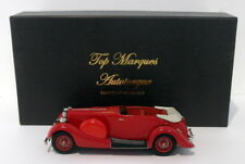 Top Marques 1/43 Scale - 1936 Lagonda LG45 Tourer Hood Open 1 Of 150 - Red