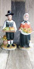 Home Interiors 1437-97 Rewards of the Harvest Porcelain Figurines Vintage