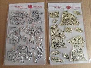 Woodware Clear Magic Stamper Set