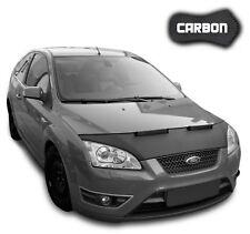 Haubenbra Ford Focus 2 CARBON Hood Bonnet Bra Steinschlagschutz Car Tuning NEU