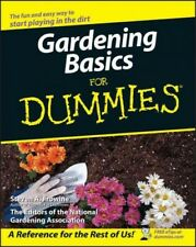 Gardening Basics for Dummies, Paperback, Brand New, Free shipping in the US