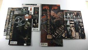 Lot of 9 Vertigo Comics HELLBLAZER No. 175,176,177,179,190-192,194, & 196