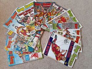 Best Of Roy Of The Rovers monthly, 1992 Complete Year, classic comic magazine
