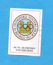 INNSBRUCK 76-PANINI-Figurina n.23- STEMMA - OSLO 1952 -Recuperata