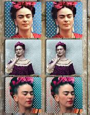 Frida Kahlo Coasters Set Of 6 Tough Non Slip Neoprene