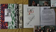 New Diane Von Furstenburg Journey of a Dress Signed Book Wrap 1/1 HC Fashion PIC