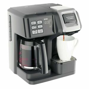 Hamilton Beach FlexBrew 12 Cups Trio Coffee Maker - Black