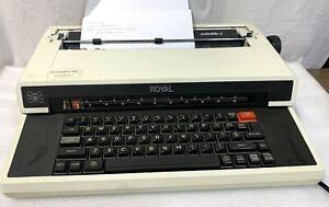 Royal Satellite II Electric Typewriter Triumph-Adler West Germany 350A