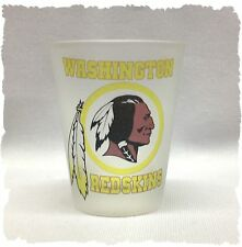 Washington Red Skins Frosted Shot Glass