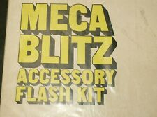 METZ MECABLITZ ACCESSORY FLASH  KIT for ELECTRONIC FLASHES NEW OLD STOCK