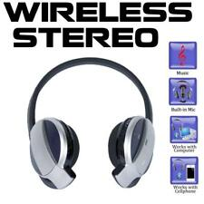 SH52 Bluetooth Stereo Headset w/ Wall and Car Charger for iPhone and Samsung