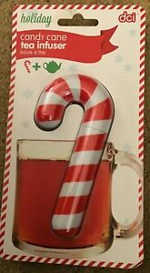 Candy Cane Shaped Tea Infuser Stainless Steel by DCI