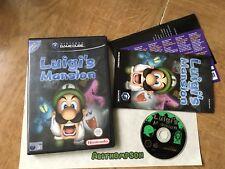 Luigis Mansion Nintendo GameCube Game PAL