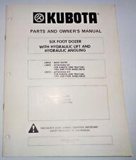 antique vintage heavy equipment manuals for kubota ebay rh ebay com