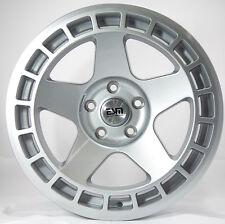 17X8.5 ESM 016 Rims 5X120mm +30 Silver Wheels Fits Bmw E36 320 323 325 E46