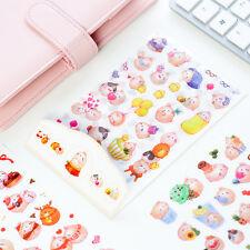 Adorable Cute Cartoon Molang Rabbit Sticker Diary Scrapbooking Deco DIY Craft
