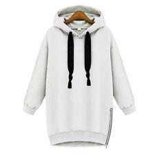 Womens Casual Hoodie Sweatshirt Long Sleeve Hooded Pullover Jumpers Top Outwear