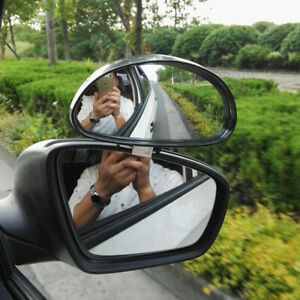 Car Safety Universal Vehicle Sides Blindspot Blind Spot Mirror Wide Angle View