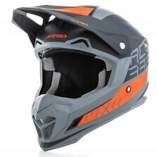 CASCO HELMET MOTO CROSS ENDURO ACERBIS PROFILE 4.0 BLACK ORANGE ARANCIONE TG L