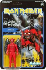 """Iron Maiden Super7 Reaction 3.75"""" Action Figure Number of The Beast Devil MOC"""