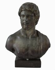 Asclepius God of Medicine Healing - Greek Mythology - Health God - Bronze Effect