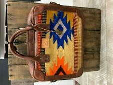 Will Leather Goods Yellow Diamond Oaxacan Briefcase  NWT