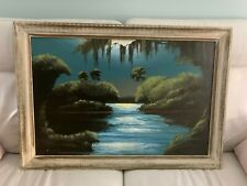 Real James Gibson Highwaymen Signed on Board Painting Art 36 x 24 (Make offer)