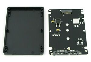 2.5 Inch SATA to M2 NGFF SSD Enclosure Converter Internal External Adapter
