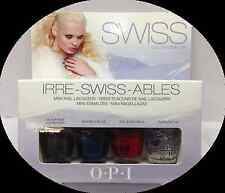 * OPI Nail Polish IRRE SWISS ABLES Mini 4pc Minis BRAND NEW