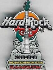 Hard Rock Cafe BANGKOK 2000 MILLENNIUM GUITAR PIN Evolution of Rock - HRC #914
