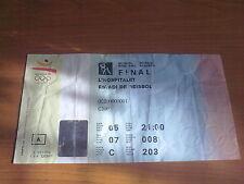 Billete Juegos Olímpicos Barcelona 1992-béisbol 5.08.92 final