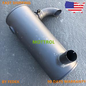 4332247 MUFFLER FITS FOR HITACHI EX200-5 EX200LC-5 ISUZU 6BG1 ENGINE FAST SHIP