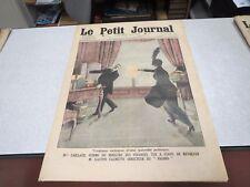LE PETIT JOURNAL SUPPLEMENT ILLUSTRE N° 1219 1914 CAILLAUX MINISTRE FINANCE *