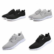 Men's Running Athletic Sneakers Non-Slip Ultralight Breathable Soft Tennis Shoes
