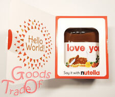 NUTELLA / Hello World / I Love You / 350g Limitierte Edt. / Geschenk / NEU & OVP